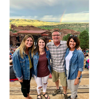 Jennifer & Family at Red Rocks