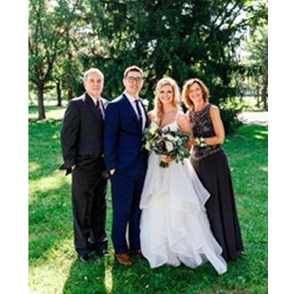 Jenny's Family at Wedding