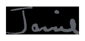 Jannie's Signature