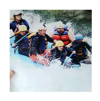 Beth White Water Rafting
