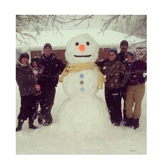 Beth's Family Snow Day