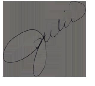Julie's Signature