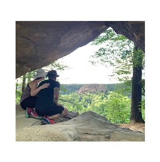 Meg Hiking