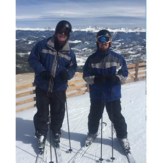 Jeff Skiing