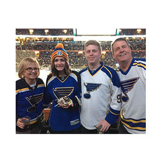 Jeff & Family's Hockey Outing
