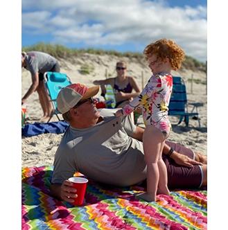 Jeff & Granddaughter