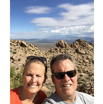 Jeff & Wife Hiking