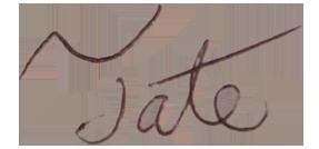 Tate's Signature